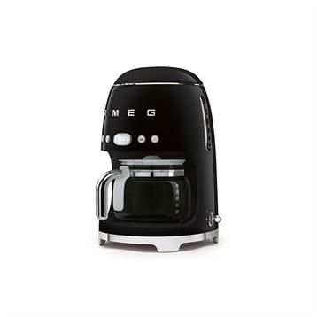Smeg Machine à café filtre noir 10 tasses 1050 W DCF01BLEU Smeg
