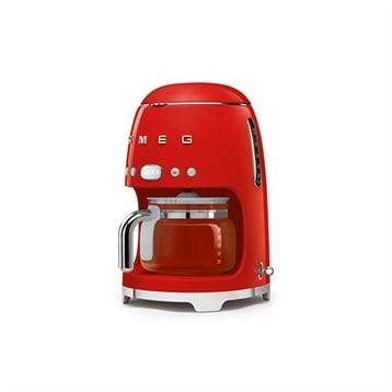 Smeg Machine à café filtre rouge 10 tasses 1050 W DCF01RDEU Smeg