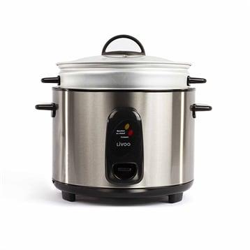 Livoo Cuiseur à riz et à la vapeur en inox 1000 W DOC192 Livoo