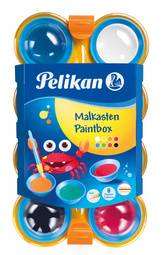 Boîte de peinture pour enfants, 8 couleurs