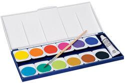 Staedtler Boîte de peinture Noris, 12 couleurs - Lot de 3