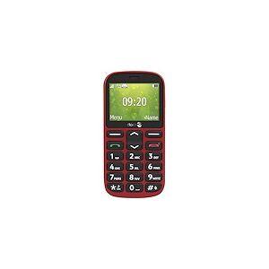 Doro 1361 - rouge - GSM - téléphone mobile - Publicité