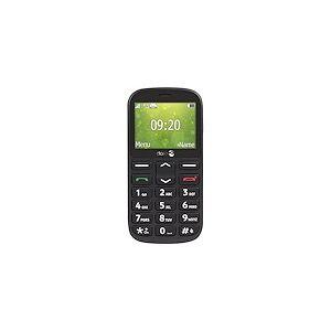 Doro 1360 - noir - GSM - téléphone mobile - Publicité
