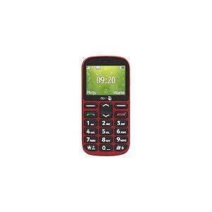 Doro 1360 - rouge - GSM - téléphone mobile - Publicité