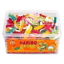 Haribo Bonbons crocodiles Haribo - Boîte de 1,1 kg