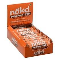 "Nakd Barre fruits secs ""Pecan pie "" sans gluten Nakd - 35 g - Lot de 18"