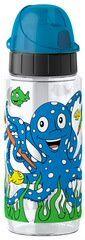 Emsa KIDS Gourde Tritan, 0,5 litre, octopus bleu