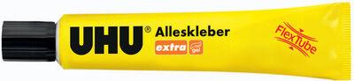 Uhu colle universelle extra FLEX + CLEAN, tube plastique,18g - Lot de 5