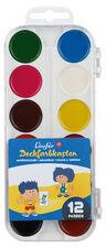 Boîte de pastilles de peinture, 12 couleurs - Lot de 8