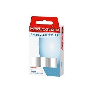 Mercurochrome Bandes extensibles Mercurochrome 2 m x 7 cm - Paquet de 3 - Publicité