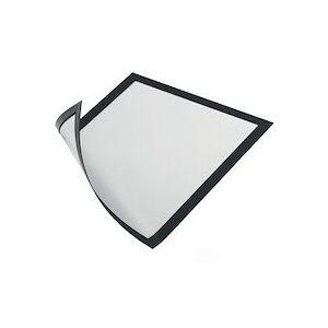 Durable Cadre d'affichage magnétique DURAFRAME MAGNETIC, A4 - Lot de 2 - Publicité