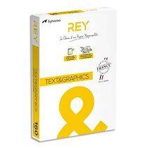Ramette 250 feuilles papier TEXT & GRAPHICS A4 160g CIE 170 haute Blancheur très satiné - Lot de 2