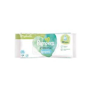 Pampers Lingettes humides Aqua Pure paquet de voyage - Lot de 20 - Publicité