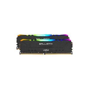 Ballistix RGB - DDR4 - kit - 16 Go: 2 x 8 Go - DIMM 288 broches - 3600 MHz / PC4-28800 - mémoire sans tampon - Publicité