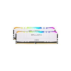 Ballistix RGB - DDR4 - kit - 16 Go: 2 x 8 Go - DIMM 288 broches - 3200 MHz / PC4-25600 - mémoire sans tampon - Publicité