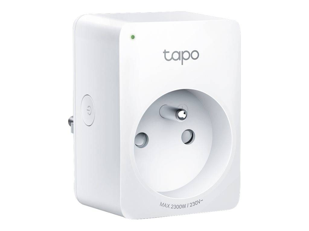 Tapo P100 - Prise smart - sans fil - 802.11b/g/n, Bluetooth 4.2 - 2.4 Ghz