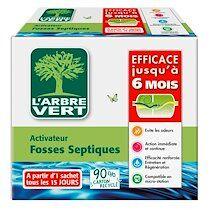 Arbre vert Activateur biologique pour fosses septiques L'Arbre Vert – 420 g