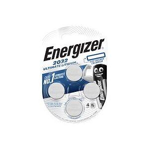 Energizer Pile bouton ultimate lithium CR2032 Energizer - Blister de 4 piles - Publicité