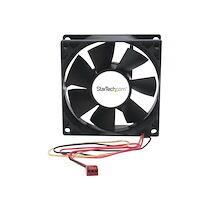 StarTech.com Ventilateur PC à Double Roulement à Billes - Alimentation TX3 - 80 mm kit de ventilation pour ordinateur
