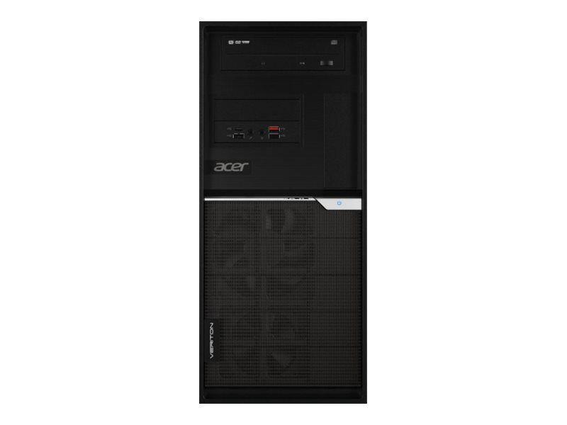 Acer Veriton K8 VK8-660G - Tour - 1 x Xeon E-2234 / 3.6 GHz - RAM 16 Go - SSD 256 Go - DVD SuperMulti - Quadro P1000 - GigE, 802.11ac Wave 2 - LAN sans fil: 802.11a/b/g/n/ac Wave 2, Bluetooth 5.0 - Win 10 Pro 64 bits - moniteur : aucun