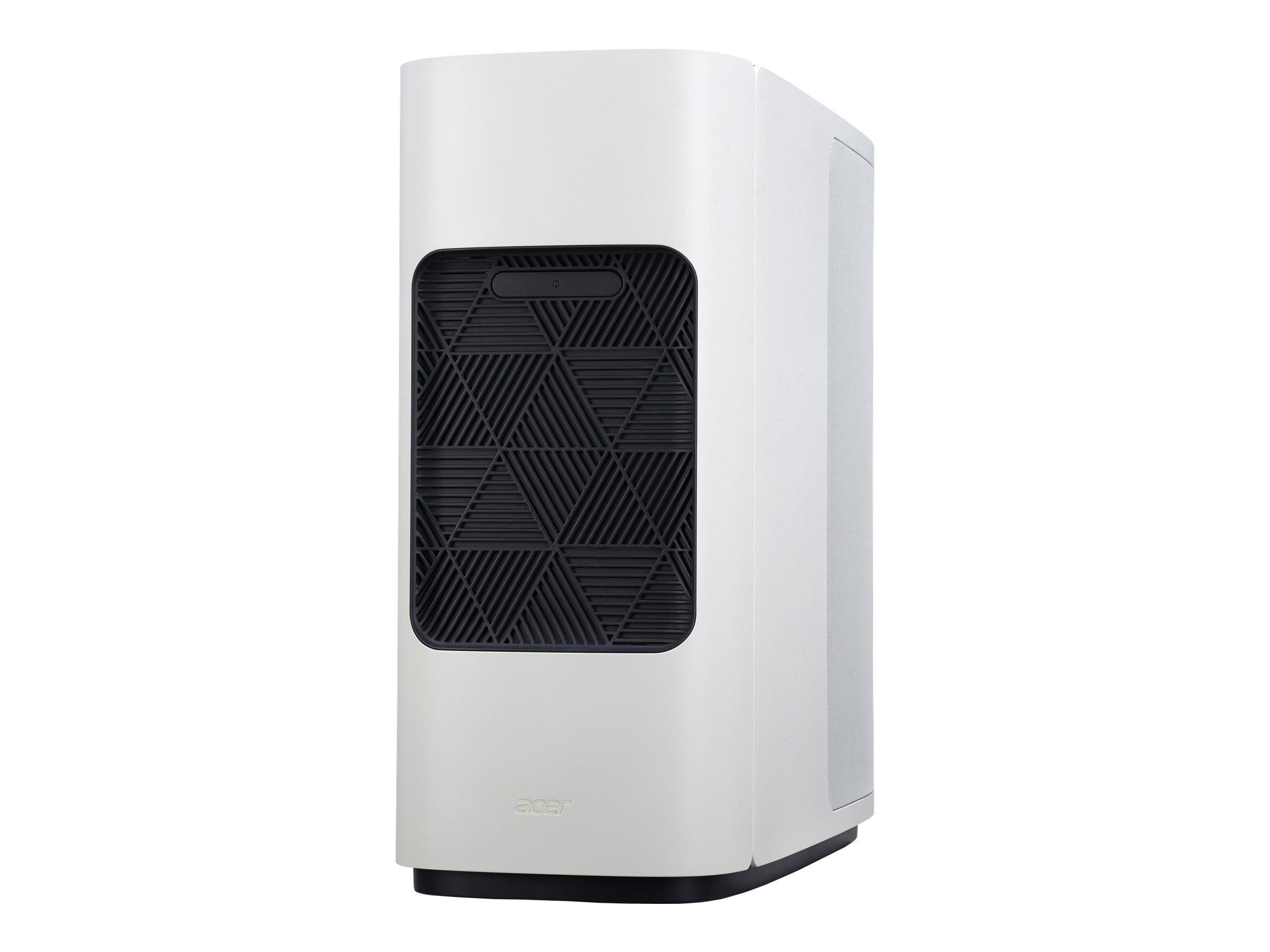 Acer ConceptD 500 CT500-51A - MDT - Core i7 9700K / 3.6 GHz - RAM 16 Go - SSD 512 Go, HDD 1 To - Quadro P2200 - GigE, 802.11ac Wave 2 - LAN sans fil: 802.11a/b/g/n/ac Wave 2, Bluetooth 5.0 - Win 10 Pro 64 bits - moniteur : aucun
