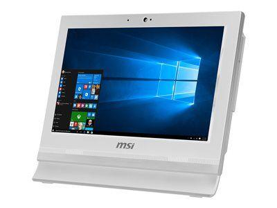 MSI Pro 16T 7M 020XEU - Tout-en-un - 1 x Celeron 3865U - RAM 4 Go - HDD 500 Go - HD Graphics 610 - GigE - LAN sans fil: Bluetooth, 802.11ac - Aucun SE fourni - moniteur : LED 15.6