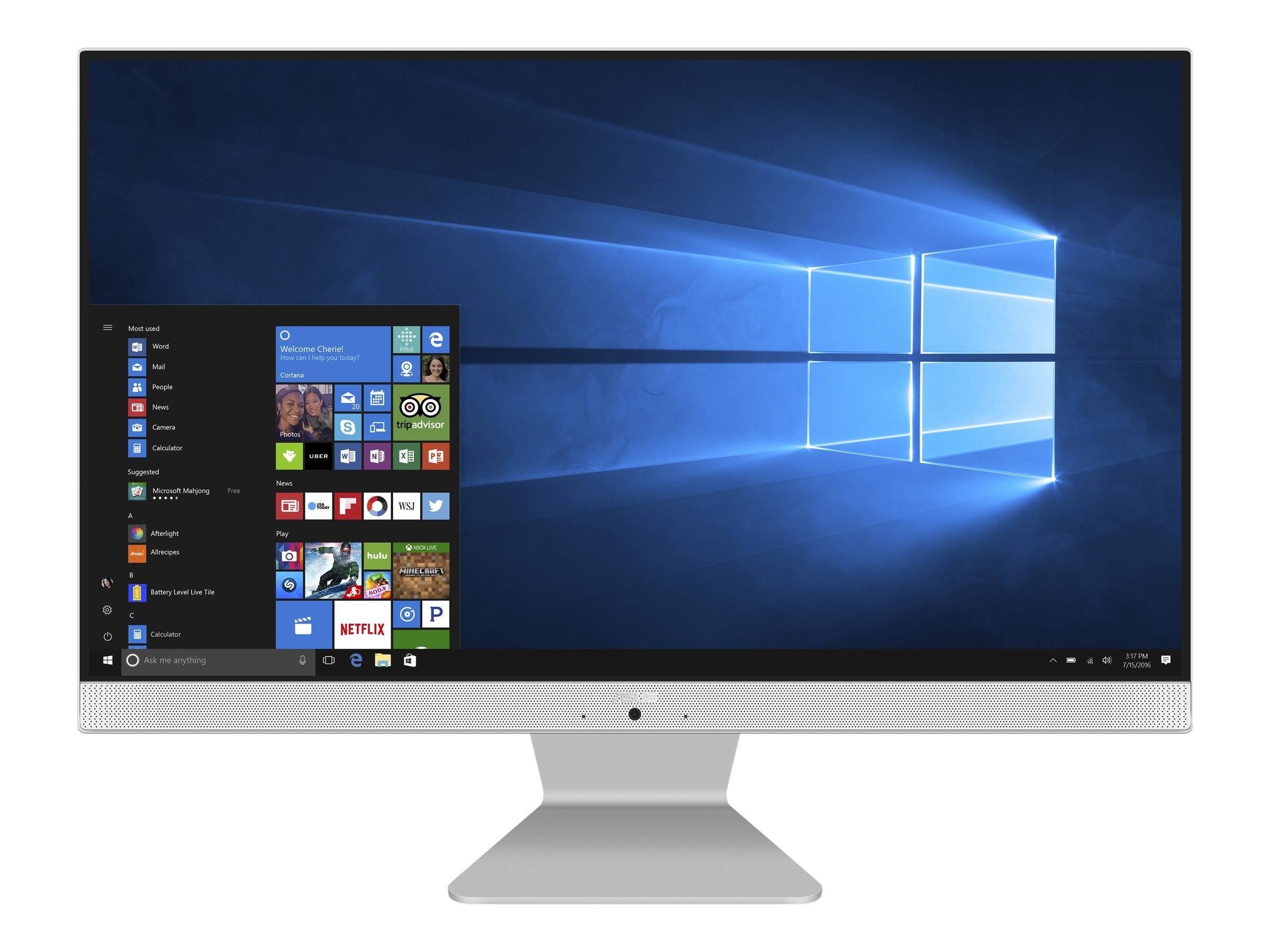 "Asus Vivo AiO V241FAK - Tout-en-un - Core i5 8265U / 1.6 GHz - RAM 8 Go - SSD 512 Go - UHD Graphics 620 - GigE - LAN sans fil: 802.11ac, Bluetooth 5.0 - Win 10 Pro - moniteur : LED 23.8"" 1920 x 1080 (Full HD)"