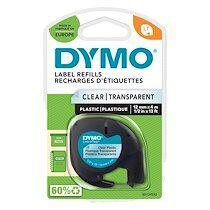Dymo Ruban étiqueteuse plastique Dymo Letratag S0721640 fond vert écriture noire 12 mm x 4 m