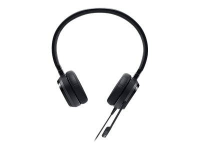 Dell Pro Stereo Headset - UC150 - Skype for Business - Micro-casque - sur-oreille - filaire - USB - pour Inspiron 17R 7720, OptiPlex 5250, 90XX, Precision Mobile Workstation 55XX, Vostro 53XX