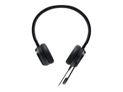 Dell Pro Stereo Headset - UC150 - Skype for Business - Micro-casque - sur-oreille - filaire - USB - pour Inspiron 17R 7720, OptiPlex 5250, 90XX, Precision Mobile Workstation 55XX, Vostro 53XX