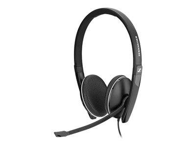 Sennheiser SC 160 - SC 100 series - micro-casque - sur-oreille - filaire - USB - noir
