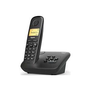 Siemens Téléphone répondeur sans fil Gigaset AL170A Noir - Publicité