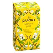 Pukka Infusion Pukka Or de Curcuma - boîte de 20 sachets