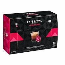 Café royal Dosettes de café Lungo Forte Café Royal - Boîte de 50