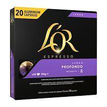 L'or Capsules de café Lungo profundo L'Or Espresso - Paquet de 20