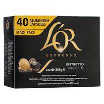 L'or Capsules de café L'Or espresso - Ristretto - boîte de 40