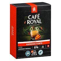 Café royal Capsules de café Café Royal Espresso Forte - Boîte de 36