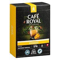 Café royal Capsules de café Café Royal Espresso - Boîte de 36