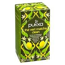 Pukka Thé vert Matcha Clean- boîte de 20 sachets