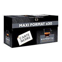 Carte noire Capsules de café Carte Noire Ristretto - Boîte de 30