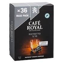 Café royal Capsules de café Café Royal Ristretto - Boîte de 36