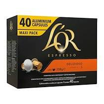L'or Capsules de café L'Or Espresso Delizioso - Boîte de 40