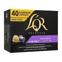 L'or Capsules de café Lungo profundo L'Or Espresso - Paquet de 40