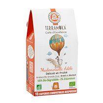 Terramoka Capsules de café Terramoka Adèle Bio - Sachet de 15