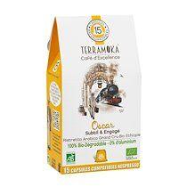 Terramoka Capsules de café Terramoka Oscar Bio - Sachet de 15