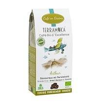 Terramoka Café en grains Terramoka Arthur Bio - Paquet de 200 g