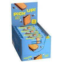 Barre de biscuits 'Pick Up! Choco & Lait',présentoir