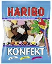 Haribo Bonbons gélifiés aux fruits 'CONFISERIE',sachet 200 g - Lot de 10