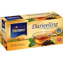 Thé noir 'Darjeeling', boîte de 25 - Lot de 6