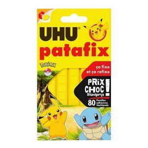 Uhu Pâtes adhésives patafix 'Pokémon', jaune - Lot de 5 - Publicité
